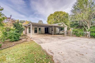 Marietta Single Family Home New: 3386 Shadyside Rd
