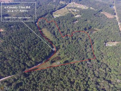 Social Circle Residential Lots & Land For Sale: County Line Rd