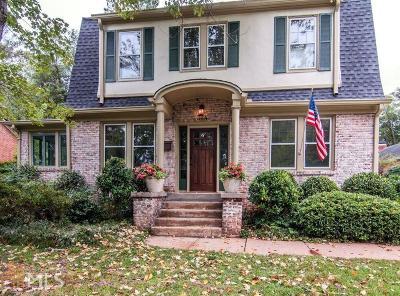 Avondale Estates Single Family Home Under Contract: 34 Berkeley Rd