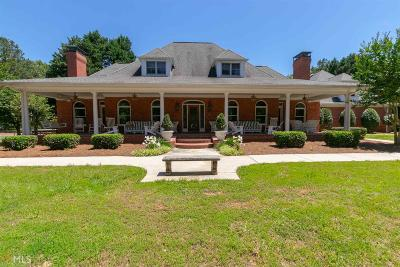 Walton County, Gwinnett County, Barrow County, Hall County, Forsyth County Single Family Home For Sale: 5690 Hendrix Rd