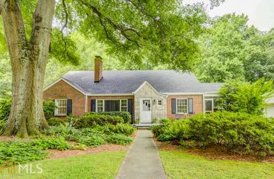 Decatur Single Family Home Under Contract: 223 E Parkwood