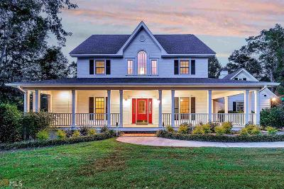 Habersham County Single Family Home Under Contract: 555 Kinney Mill Rd