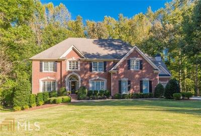 Alpharetta Single Family Home Under Contract: 822 Hallbrook Ln