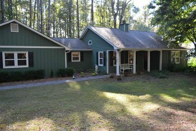 Peachtree City Single Family Home Under Contract: 108 Timber Ridge