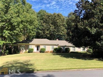 Atlanta Single Family Home For Sale: 7655 Ryefield Dr