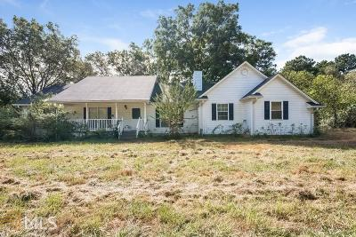 Monroe Single Family Home For Sale: 3193 Old Monroe Madison Hwy