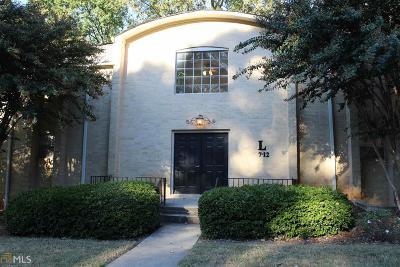 Atlanta Condo/Townhouse New: 5400 Roswell Rd #L11