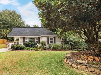 Atlanta Single Family Home New: 1901 Woodland Hills Ave NW