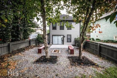 Virginia Highland Single Family Home For Sale: 877 Monroe Dr
