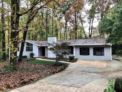 Peachtree City Single Family Home For Sale: 108 Pat Mell
