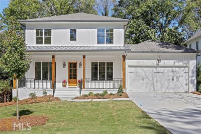 Brookhaven Single Family Home Under Contract: 2602 Drew Valley Rd