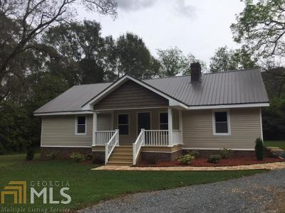 Milner Single Family Home Under Contract: 608 Zebulon Rd