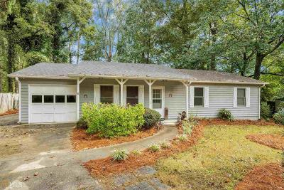 Sugar Hill Single Family Home Under Contract: 5079 Hidden Branch Dr