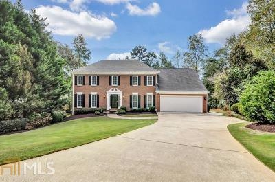 Roswell Single Family Home Under Contract: 535 Dogleg Ct
