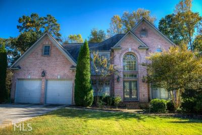Suwanee Single Family Home For Sale: 3887 Hickory Manor Dr