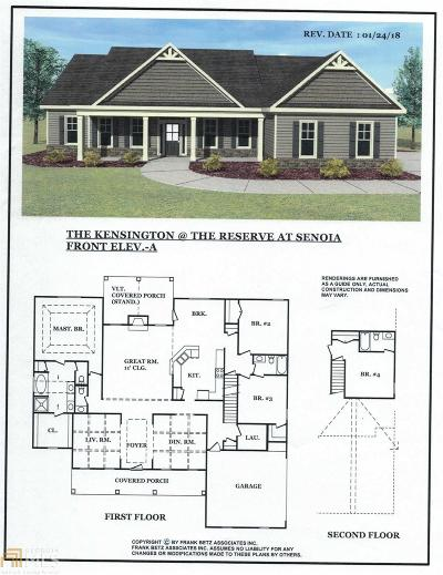 Senoia Single Family Home For Sale: Reserve Pl #Lot 28