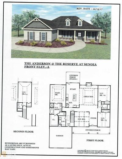 Senoia Single Family Home For Sale: Reserve Pl #Lot 20