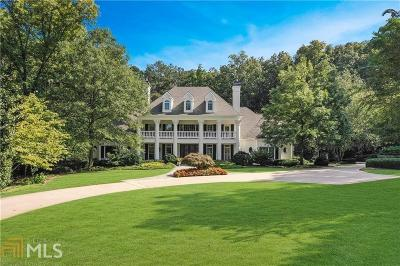 Alpharetta, Milton, Roswell Single Family Home For Sale: 13955 Atlanta National Dr