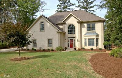 Peachtree City Single Family Home Under Contract: 208 Chateau Ln