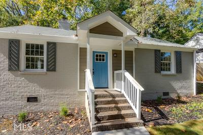 Decatur Single Family Home For Sale: 1237 Thomas Dr