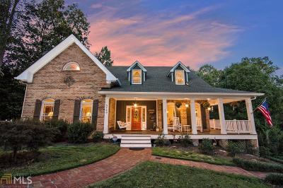 Dawsonville Single Family Home Under Contract: 5740 Dunroven Way