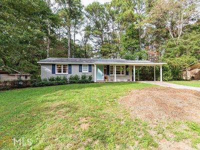 Tucker Single Family Home Under Contract: 4170 Pine Valley Rd