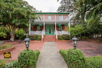 Inman Park Condo/Townhouse For Sale: 764 Edgewood Ave #6
