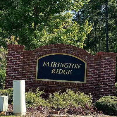 Lithonia Condo/Townhouse For Sale: 10104 Fairington Ridge Cir