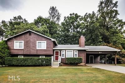 Snellville Single Family Home Under Contract: 1851 Coachman Cv