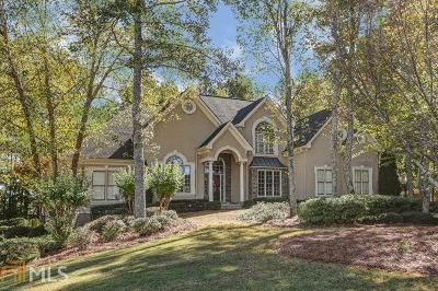 Alpharetta Single Family Home Back On Market: 13765 Belleterre Dr