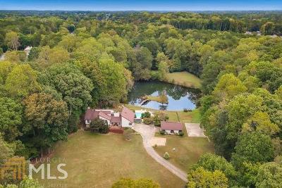 Marietta, Roswell Single Family Home For Sale: 1650 Murdock Rd