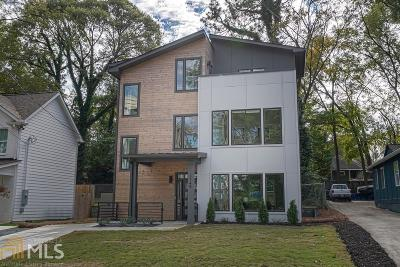 Reynoldstown Single Family Home For Sale: 1149 Wade St