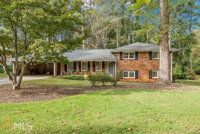 Tucker Single Family Home For Sale: 2648 Oswood Dr