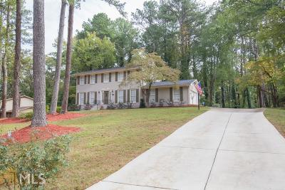 Stone Mountain Single Family Home Under Contract: 4941 Antebellum Dr