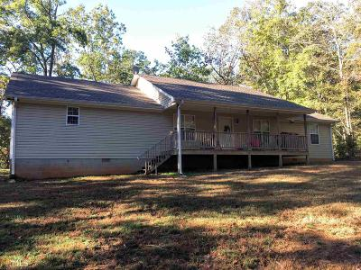 Clarkesville Single Family Home For Sale: 997 Old Hardman Bottoms Rd