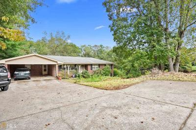 Kennesaw Single Family Home For Sale: 565 Hawkins Store Rd