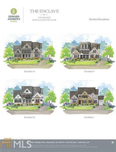 Milton Single Family Home For Sale: 1068 Kent Ct