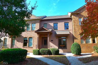 Suwanee Condo/Townhouse For Sale: 3949 Savannah Sq St