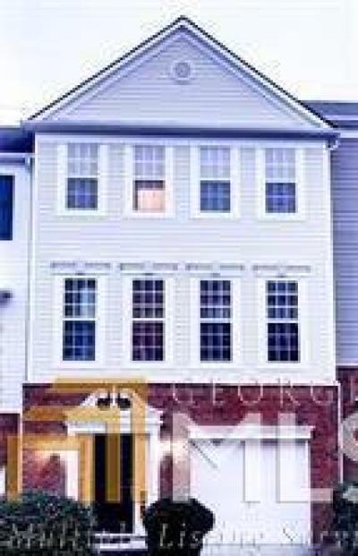 Alpharetta Condo/Townhouse For Sale: 13133 Fasherstone Dr