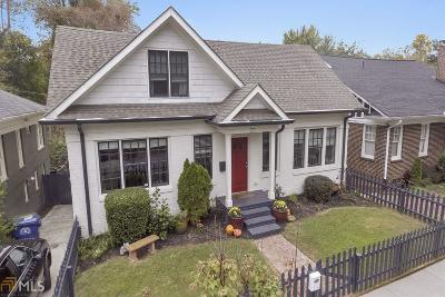 Virginia Highland Single Family Home For Sale: 1132 St Louis Pl