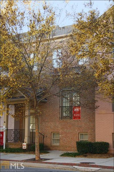 Suwanee Condo/Townhouse For Sale: 3665 Chicago St