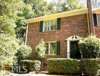 Decatur Condo/Townhouse For Sale: 1105 Clairemont Ave #K