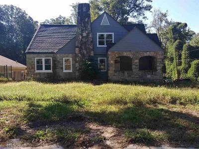 Grove Park Single Family Home Under Contract: 2138 NW Donald Lee Hollowell Pkwy