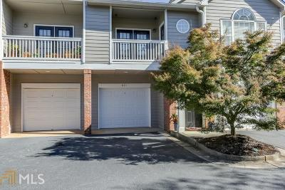 Smyrna Condo/Townhouse Under Contract: 611 Vinings Forest Ct