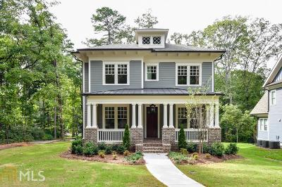 Decatur Single Family Home For Sale: 1205 Oldfield Rd