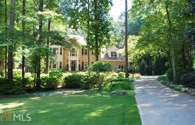 Kennesaw Single Family Home Under Contract: 296 Mossy Way