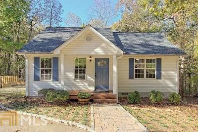 Clarkesville Single Family Home Under Contract: 131 Harmony Valley Way