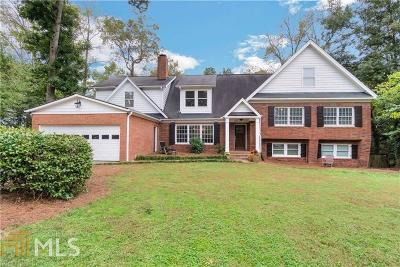 Buckhead Single Family Home For Sale: 1350 Battleview