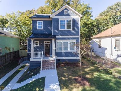 Peoplestown Single Family Home For Sale: 1015 Martin
