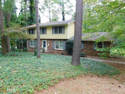 Stone Mountain Single Family Home For Sale: 308 Hightower Trl